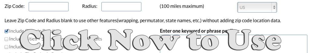 local keyword tool